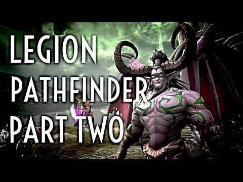 WoW Guide - Legion Pathfinder Part 2- Legionfall Reputation - Unlock flying