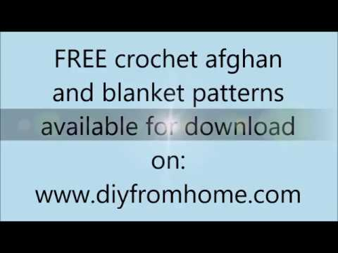 free crochet afghan and blanket patterns