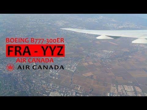 Air Canada AC873: Frankfurt am Main FRA ✈ Toronto Pearson Int'l YYZ