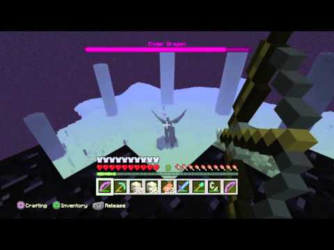 Minecraft How to beat the Ender Dragon on Survival