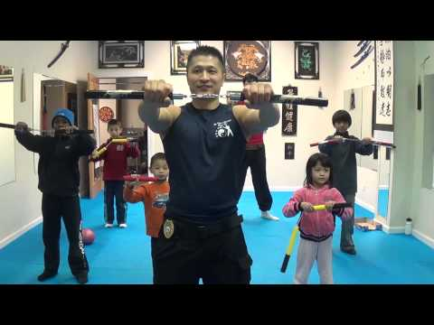 FMK Beginners Nunchaku Training For Kids