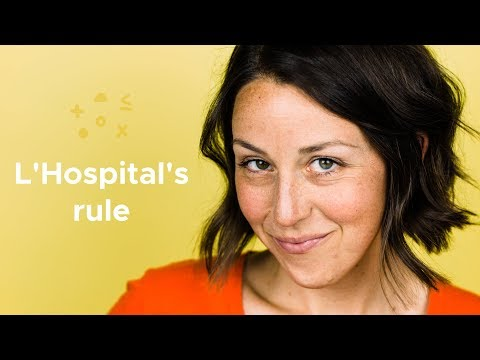 What is L'Hospital's rule?