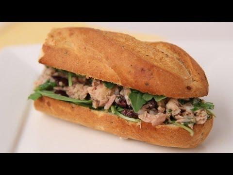 Tuna Baguette Sandwich - Laura Vitale - Laura in the Kitchen Episode 456