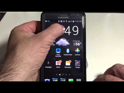 Samsung Galaxy Note 4 Tip: How to use the Multiwindow feature