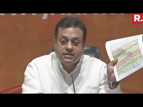 Hunger for power in Cong party has been exposed - Sambit Patra | Bhima Koregaon Case