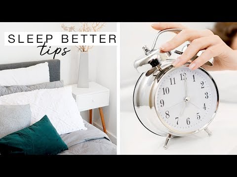 5 Steps To A Better Night Sleep!