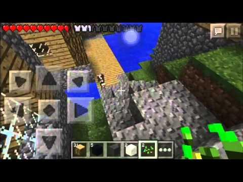Minecraft PE 0.9.5-Multiplayer-Episode 1-Creepers...