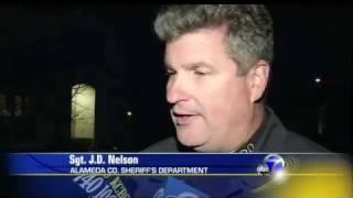 MythBusters Cannonball Mishap hits house, car, mini van and road, Dublin California accident