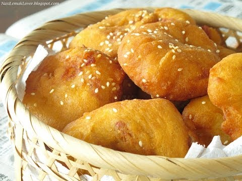 How To Make Chinese Five Spice Doughnut / Hollow donuts / Banh Tieu