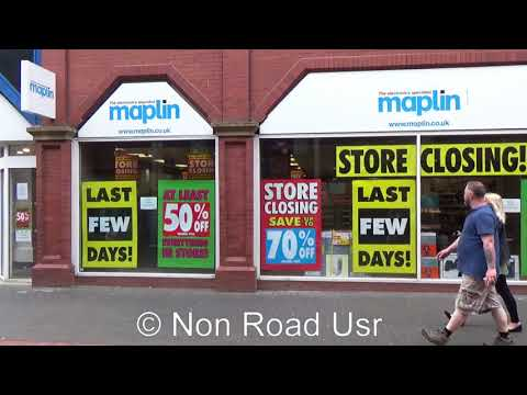 Maplin Middlesbrough store closed down