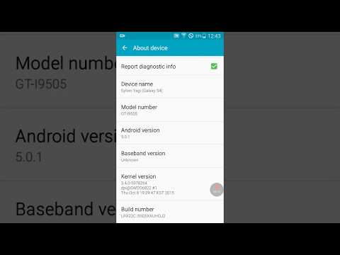How to find out your Android Phone's OS Version & Kernel Build number