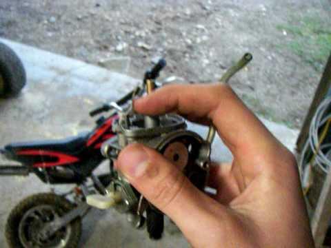 49cc pocket bike carb issues