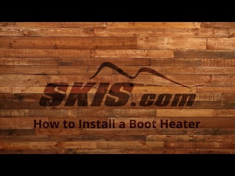 How to Install a Boot Heater