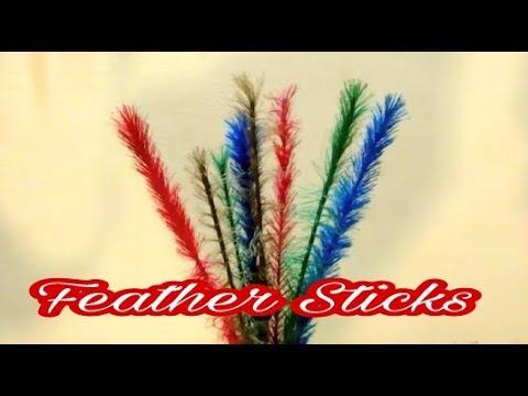 Decorative Ribbon Sticks || Diy || Home Decor