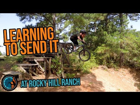 Learning to Jump at Freeride512 Bike Park at Rocky Hill Ranch