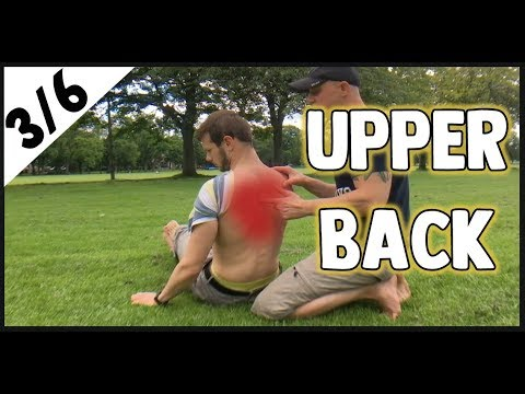 How to get rid of UPPER BACK pain (3/6) | Capoeira (#12)
