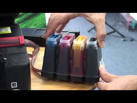 Continuous Ink Supply System ROBUST CISS Installation for Epson XP-100,XP-200, XP-300, XP-400