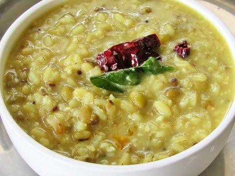 How To Make Kanjiyum Payarum | Nisa Homey