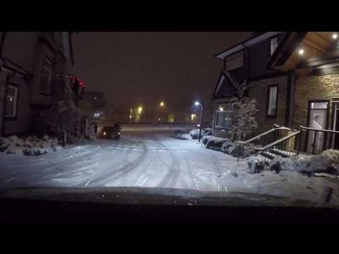 Snow Drive to Big Ridge - December 31st 2016
