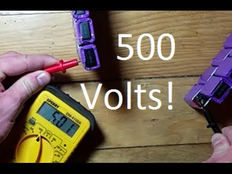 What Can You do With Fifty 9Volt Batteries?