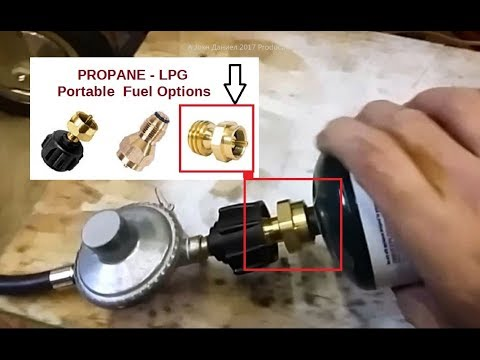 Using a PROPANE 1 Lb Fuel adapter in Emergencies or ?