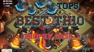 NEW Titan TH10 Trophy/War Base Speed Build, UNBEATABLE!!! | Daikhlo