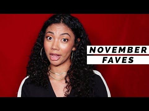 🍂 NOVEMBER FAVORITES 2017 - SKINCARE & HAIR
