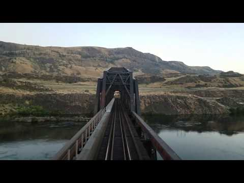 Empire Builder from Seattle, WA to Glacier National Park, MT