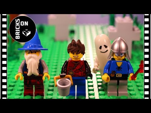 Brickfilm Wrong Brick Bodies with LEGO Halloween Brick Building Animation Video for kids