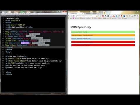 CSS Specificity