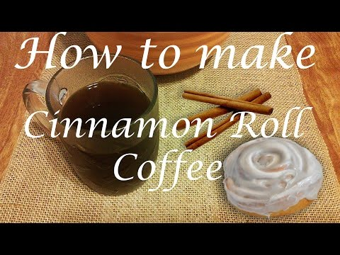 Cinnamon Roll Coffee Recipe