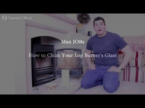 How to Clean Log Burner Glass Window