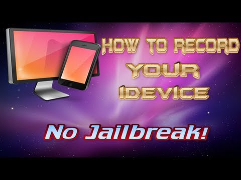 How to Record Your iPod, iPhone & iPad (No Jailbreak!)