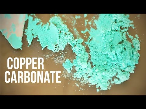 Making Paint out of Copper Carbonate