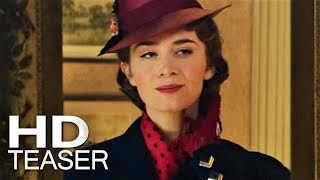 O RETORNO DE MARY POPPINS | Teaser Trailer (2018) Legendado HD