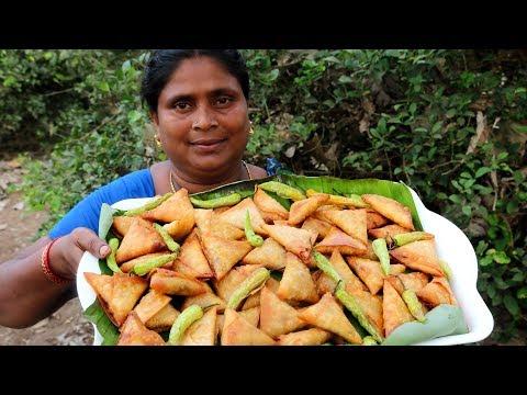 CRISPY CORN SAMOSA || SAMOSA RECIPE | COUNTRY FOODS