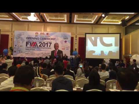 Franchise International Malaysia 2017 (FIM 2017) - Opening Ceremony