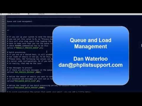 Configuring phpList #3 - Editing the config.php file