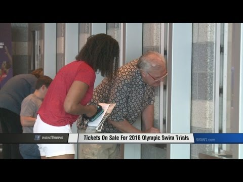 Tickets On Sale For 2016 Olympic Swim Trials