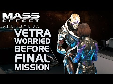 Mass Effect Andromeda - Vetra Worried Before Final Mission (All Dialogue Options)