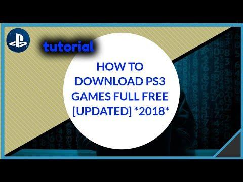 How to download PS3 games free Full [UPDATED] ! | كيفية  تحميل العاب بلايستيشن مجانا