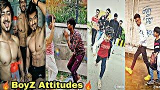 Boys Attitude New Tik tok mix tape compilation videos  sanjay dutt trending dialogue  team07 riyaz