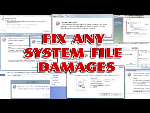How to repair a corrupt system files without any software download [ Easy windows Tips ]