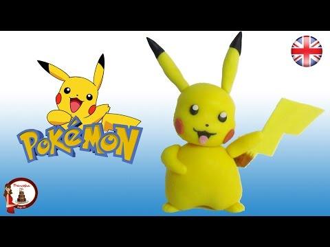 Pokémon Pikachu Cake Topper Tutorial