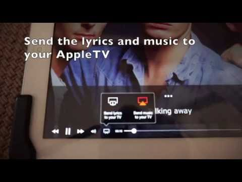 Karaoke setup with AppleTV, iPad, Musixmatch, YouTube