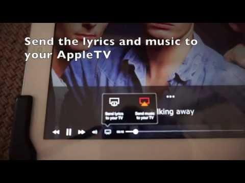 Karaoke setup with AppleTV, iPad, Musixmatch, YouTube