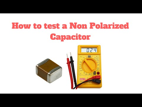 How to test a Non Polarized Capacitor in Hindi (Part - 2)