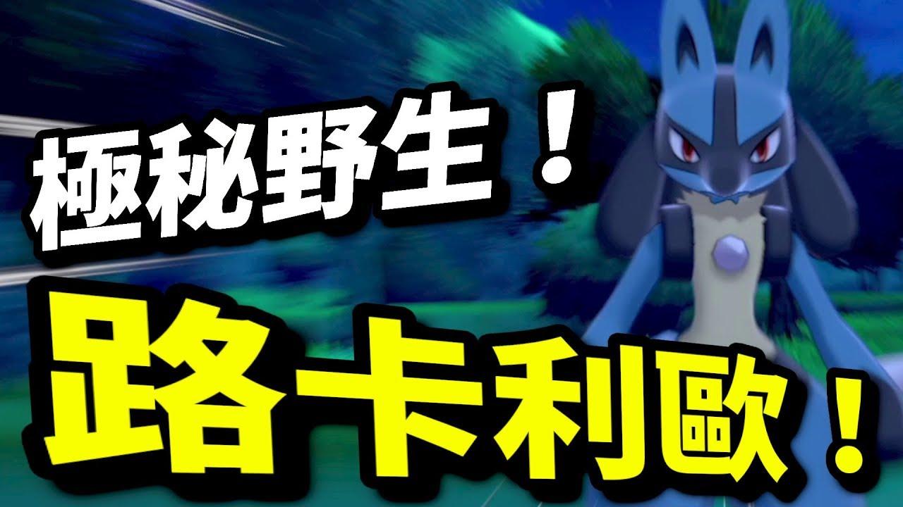 捕捉路卡利歐位置!|寶可夢 劍 盾|寵物小精靈|Pokémon Sword Shield|ポケットモンスター ソード シールド |攻略心得教學