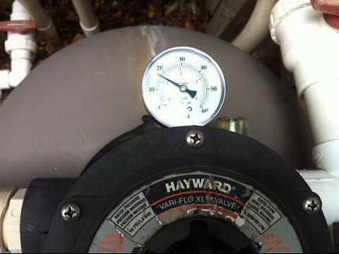 Pool Filter Pressure Too High
