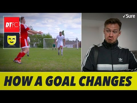 How a Sunday League goal changes through the week
